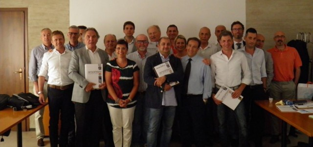 arsonsisi powder coatings team in Italy
